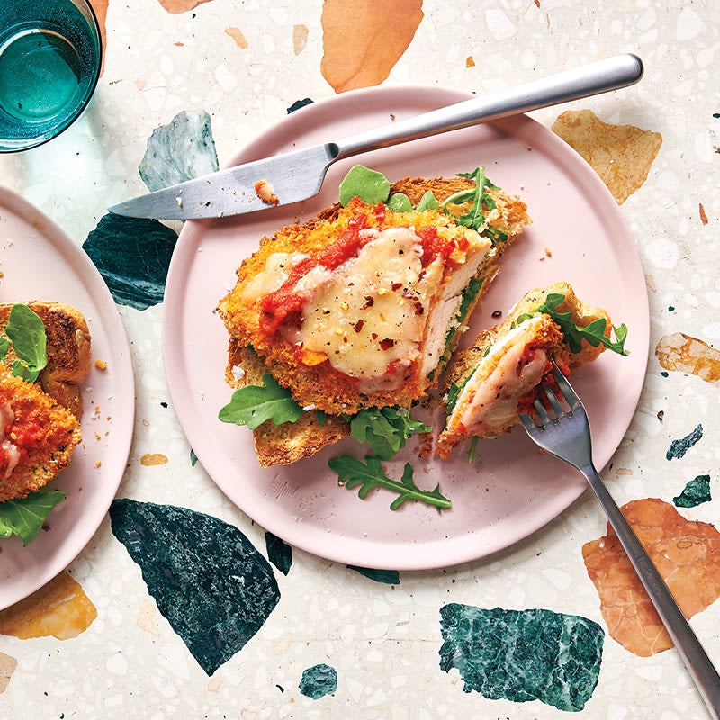 Photo of Chicken Parmigiano Open-Faced Sandwiches by WW