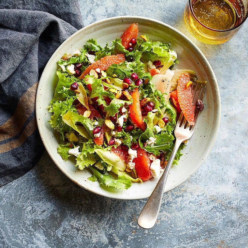 Photo of Orange, pomegranate and feta salad by WW