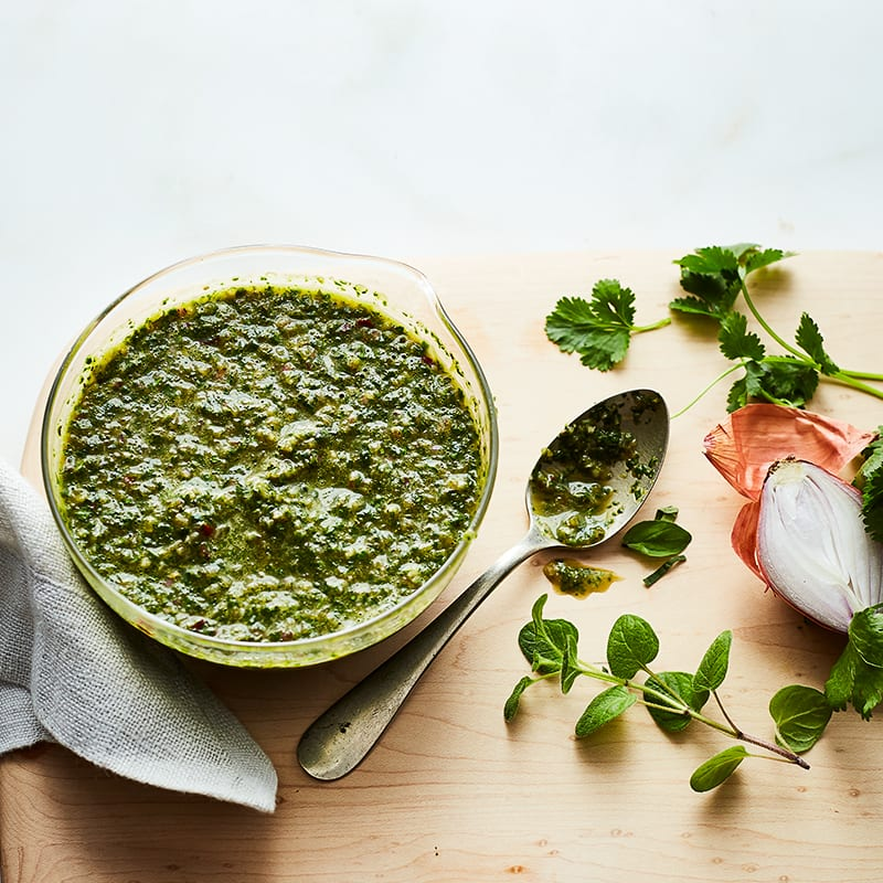 Photo of Fresh citrus herb sauce by WW