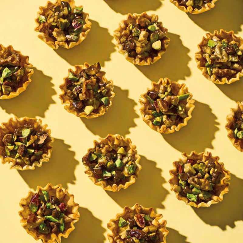 Photo de Tartelettes de phyllo au chocolat et aux noix par WW