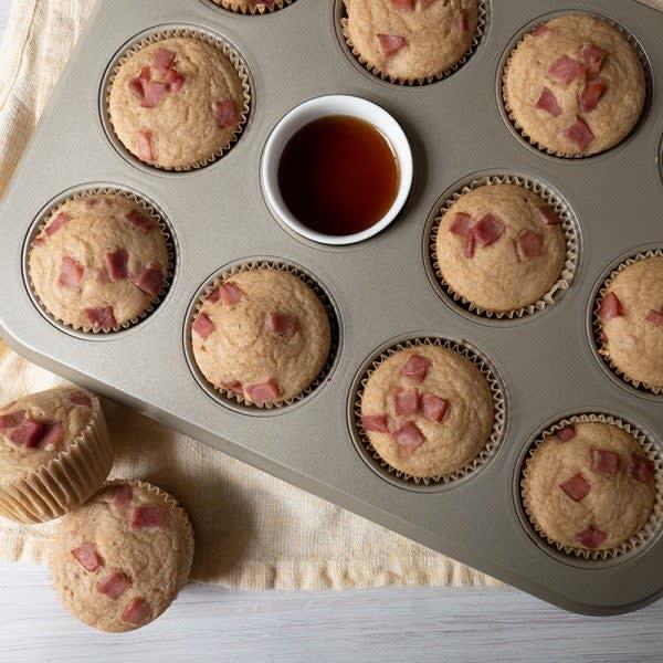 Photo de Muffins aux crêpes et au bacon de dos par WW