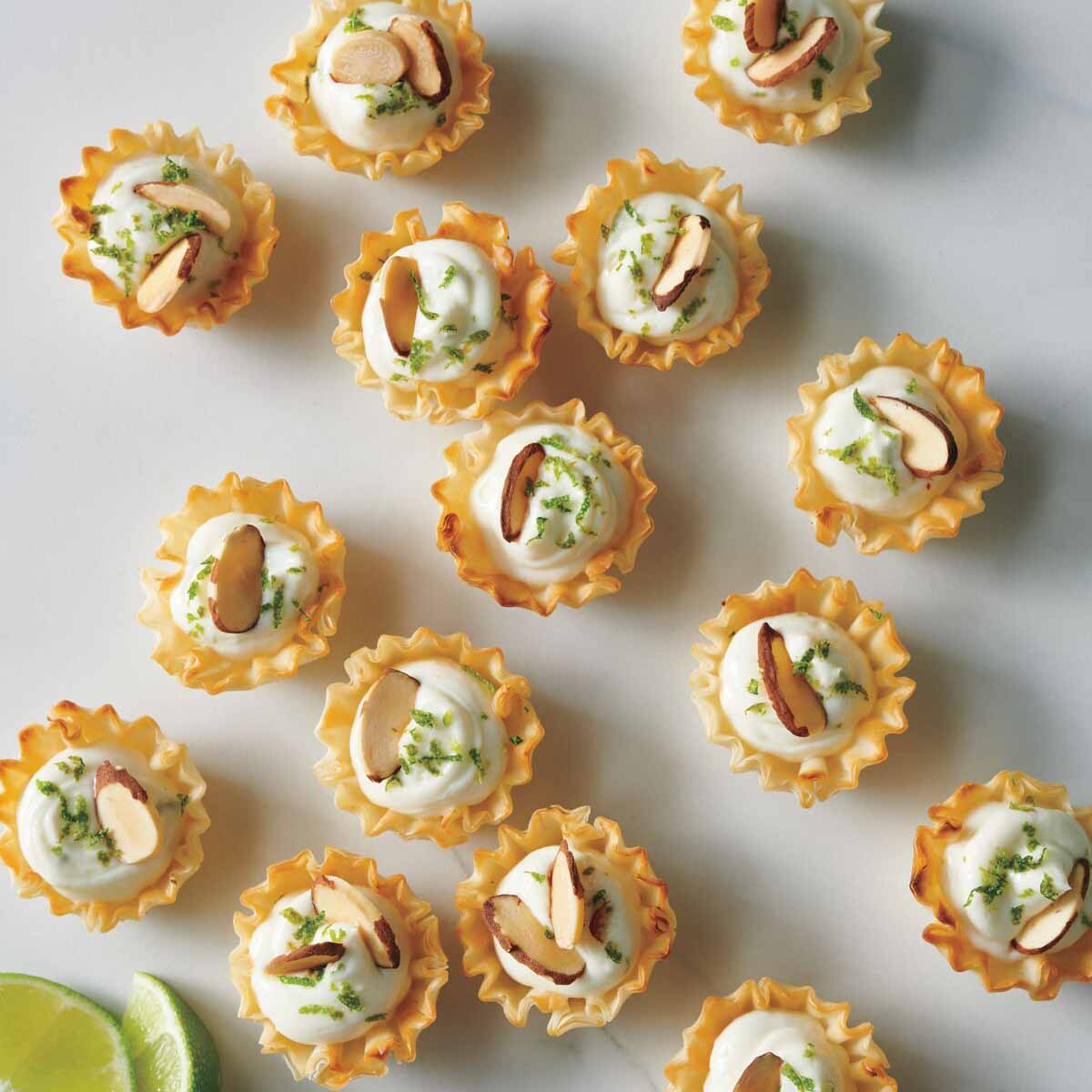 Photo of Two-bite key lime tarts by WW