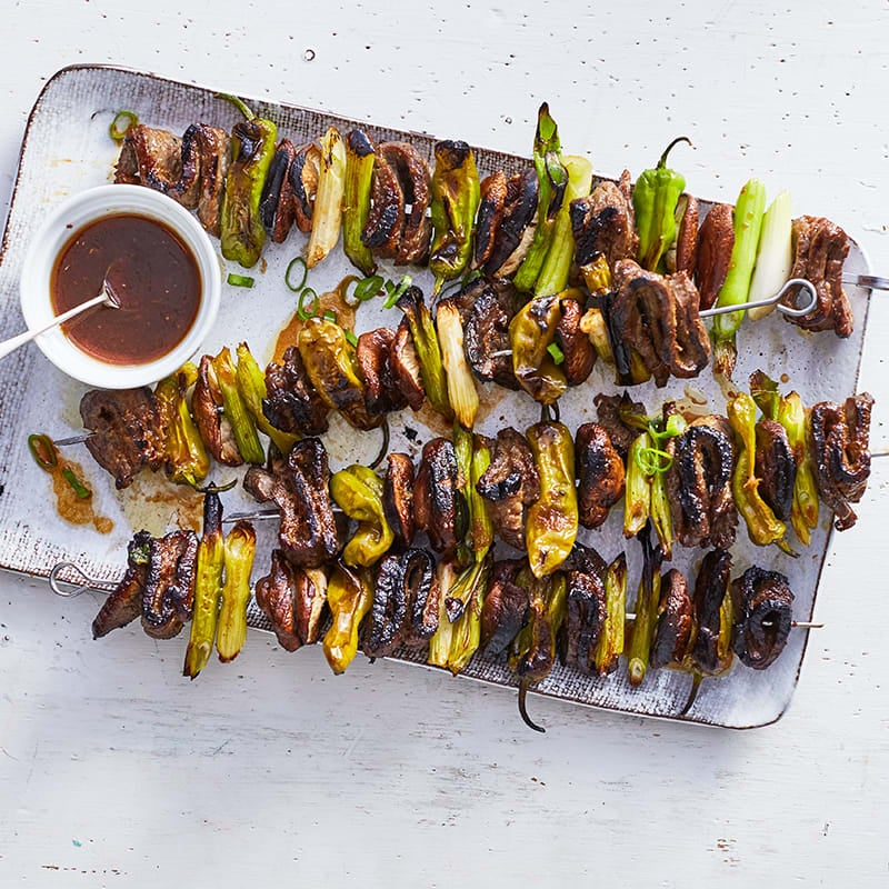 Photo of Steak and shishito skewers by WW