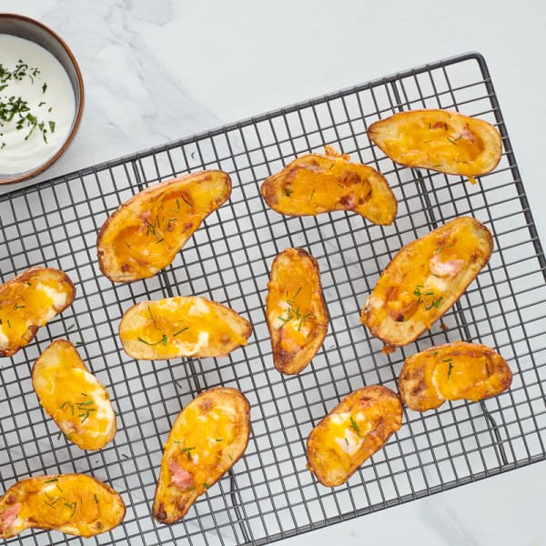 Photo of Roasted stuffed red potato bites by WW