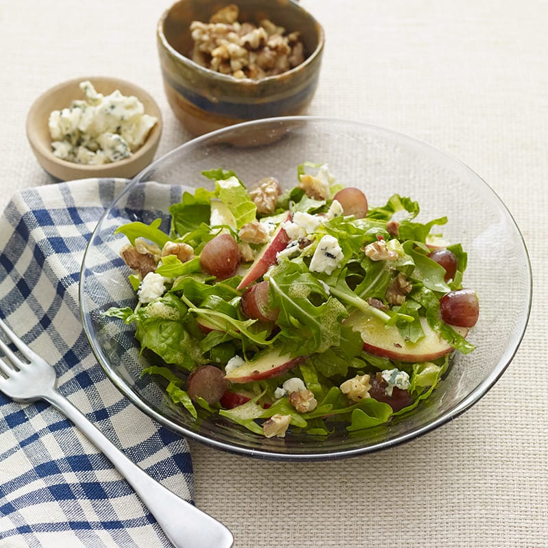 Photo of Apple, Grape and Walnut Salad with Blue Cheese by WW