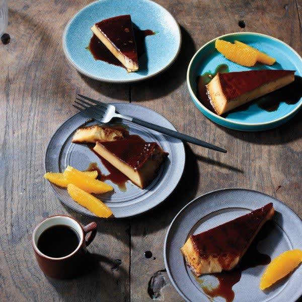 Photo de Crème caramel à la cannelle et à l'orange par WW