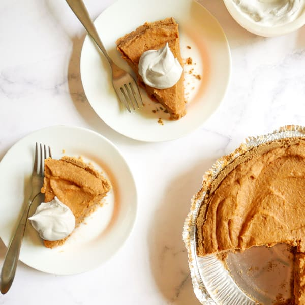 Photo of Four-ingredient pumpkin pie by WW