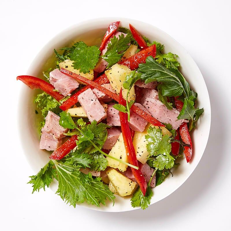 Photo of Ham & Pineapple Salad by WW