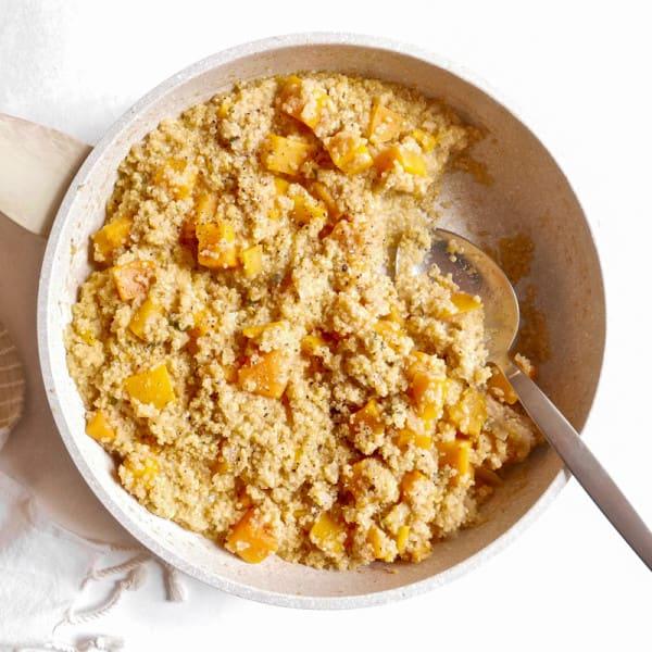 Photo de Casserole de quinoa crémeux à la courge musquée par WW