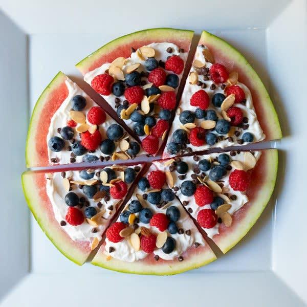 Photo de Pizza au melon d'eau par WW
