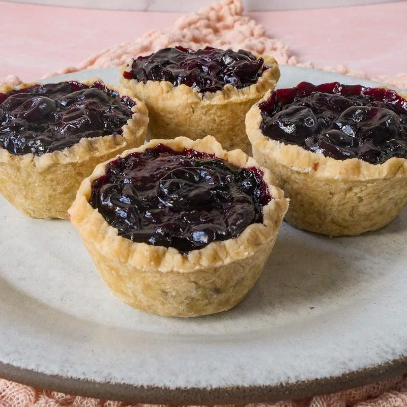 Photo of Vegan, gluten-free cherry hand pies by WW