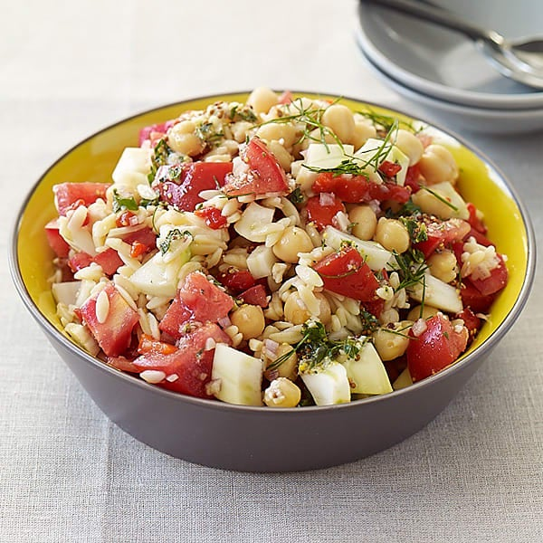 Photo of Chickpea and fennel pasta salad by WW