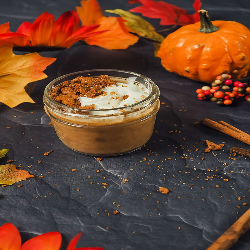 Photo of Mini sous vide pumpkin pie by Chef Tyler by WW