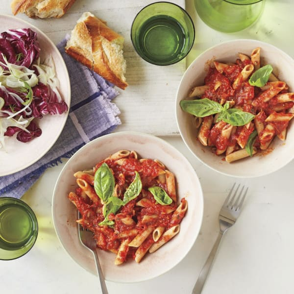 Photo of Summer tomato sauce with pasta by WW