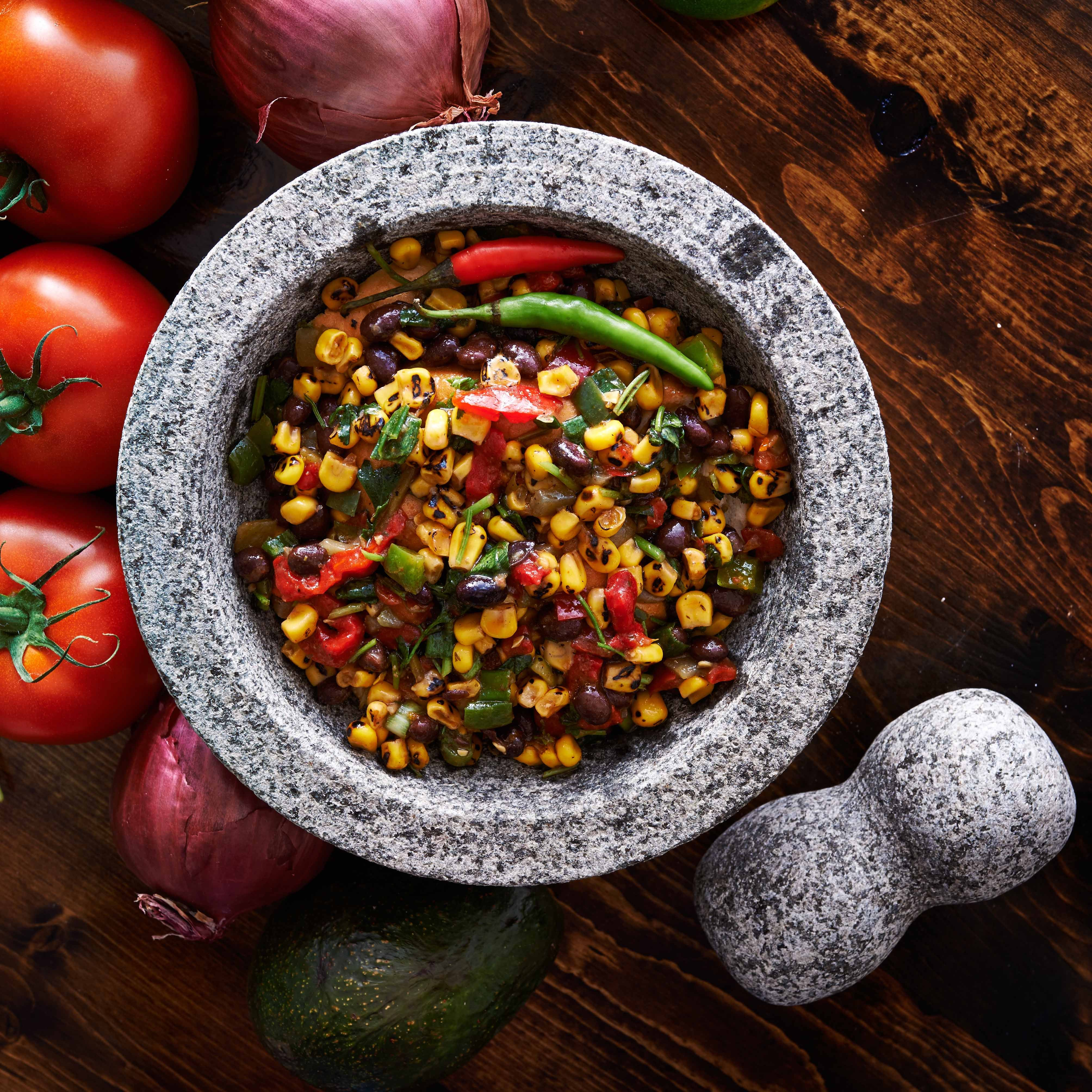 Photo of Black Beans and Corn by WW