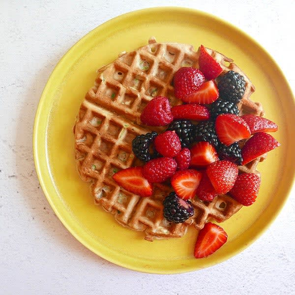 Photo of Zucchini waffles by WW