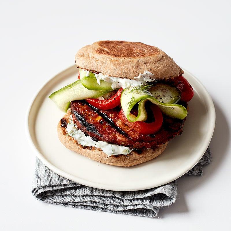 Photo of Greek-inspired veggie burger by WW
