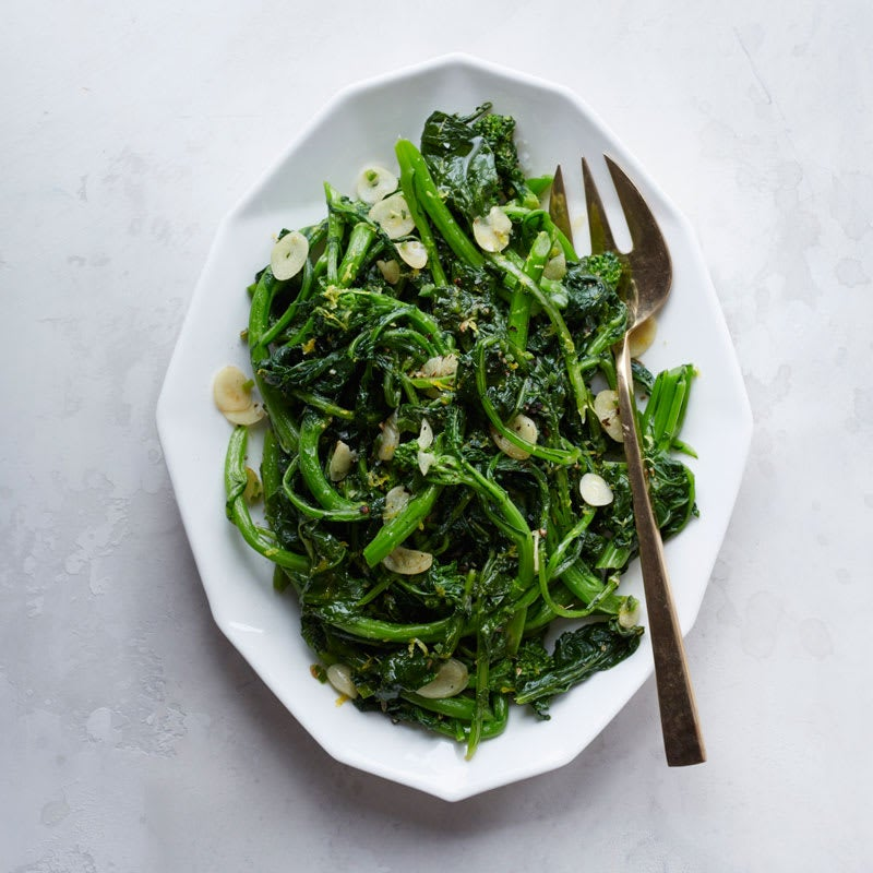 Photo of Broccoli rabe with fennel and fresh chilies by WW