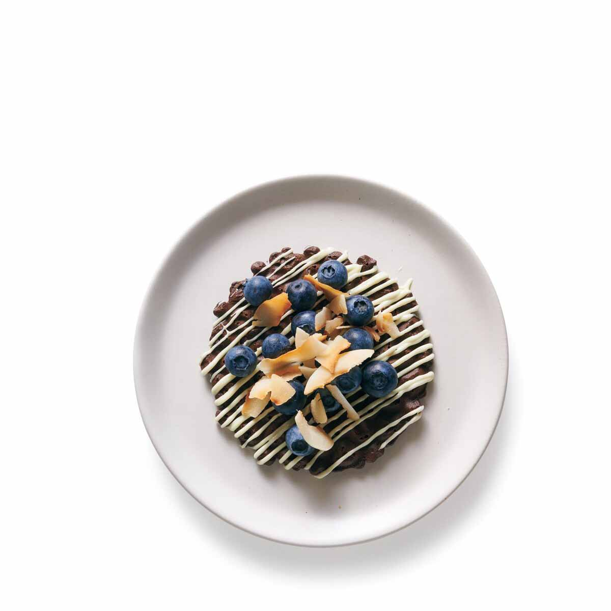 Photo of White Chocolate-Blueberry Pizzelle Tart by WW