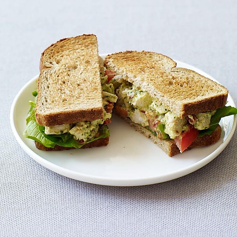 Photo of Pesto chicken salad sandwiches by WW