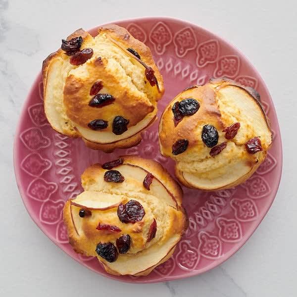 Photo de Muffins aux pommes et aux canneberges par WW