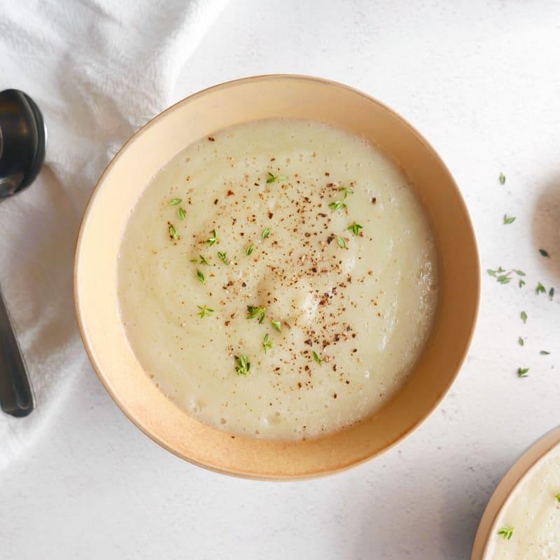 Photo of Creamy cauliflower soup by WW