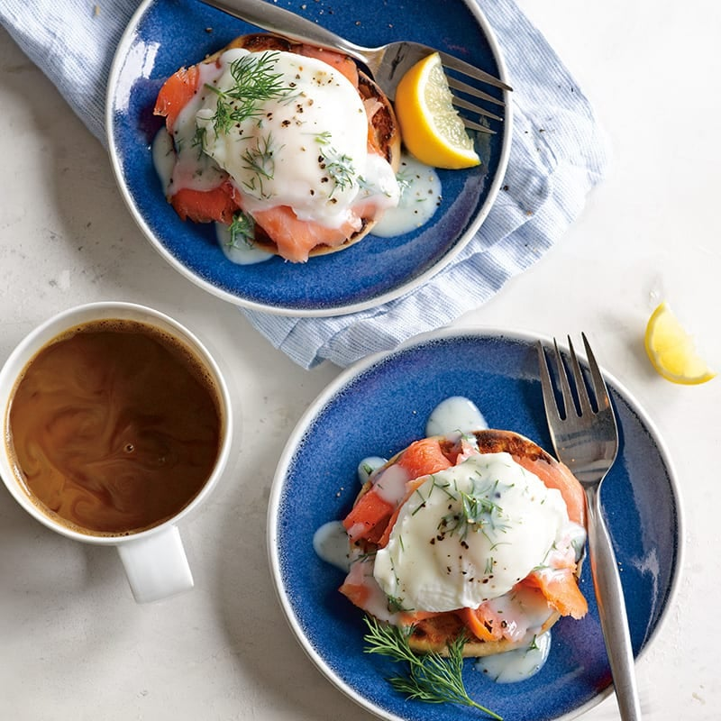 Photo of Smoked salmon eggs Benedict by WW
