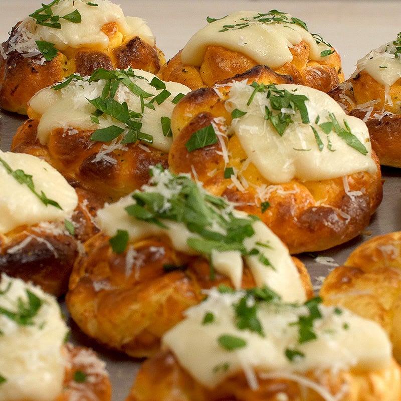 Photo of Garlic-cheese cloud bread by WW