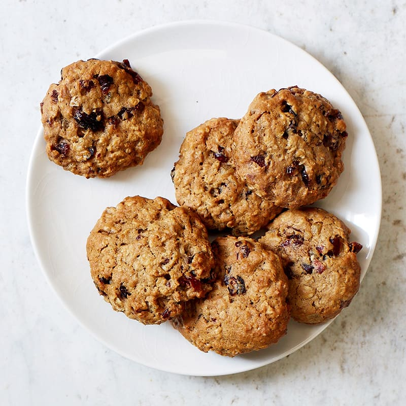 Photo of Cranberry-Ginger Oatmeal Cookies by WW