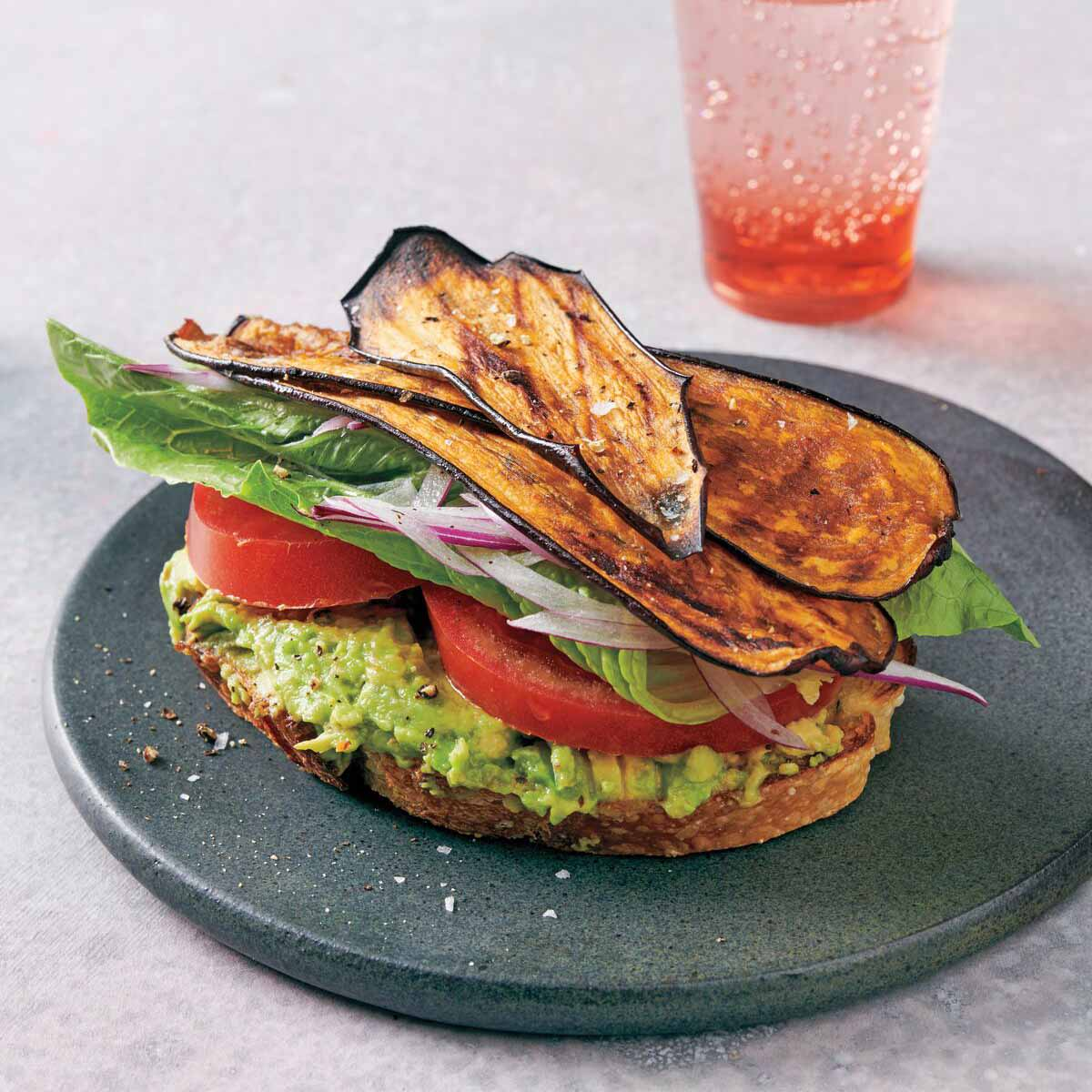 Photo of Eggplant BLT sandwiches by WW