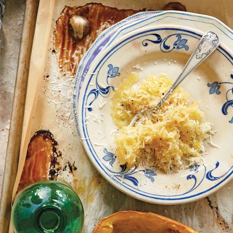 Photo of Spaghetti squash cacio e pepe by Daphne Oz by WW