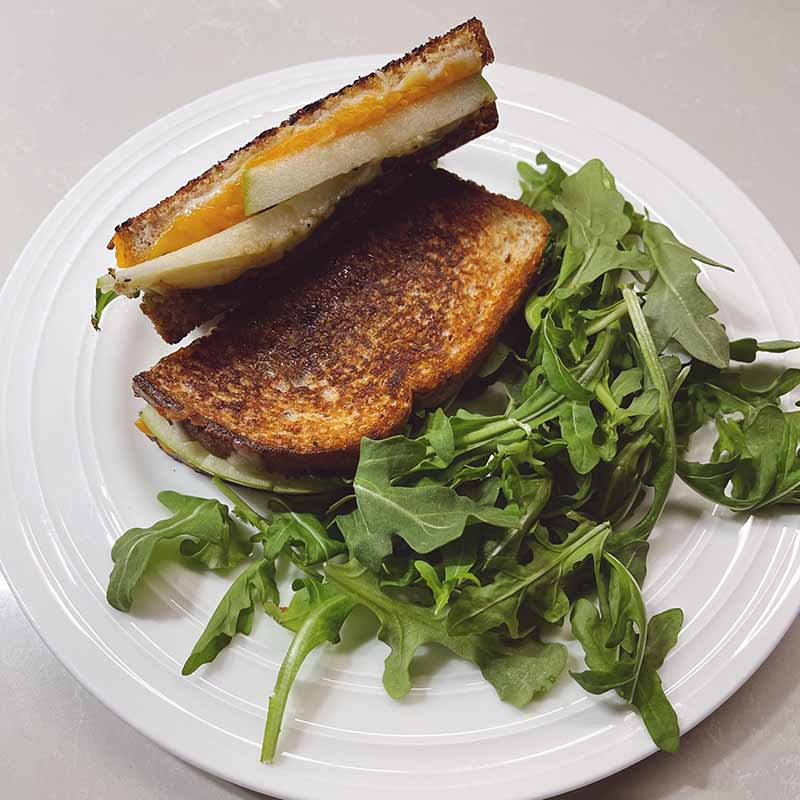 Photo of Gourmet grilled cheese Created by Coach Chloe by WW