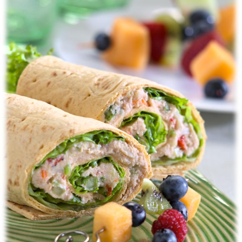 Photo of Tuna salad wrap by WW