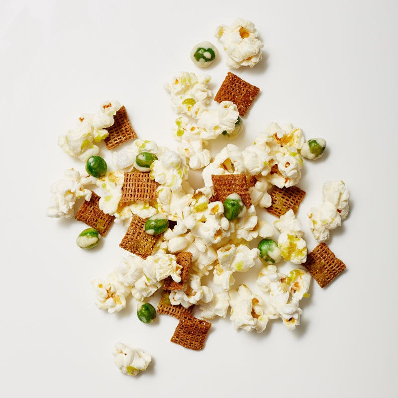 Photo of Sweet-and-spicy wasabi snack mix by WW