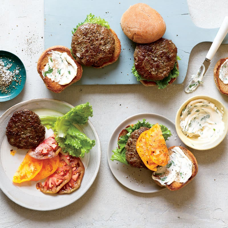 Photo of Beef and Portobello Burgers by WW
