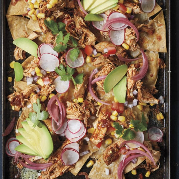 Photo of Piled-high chicken nachos by WW