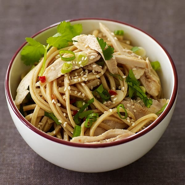 Photo of Sesame noodles with chicken by WW