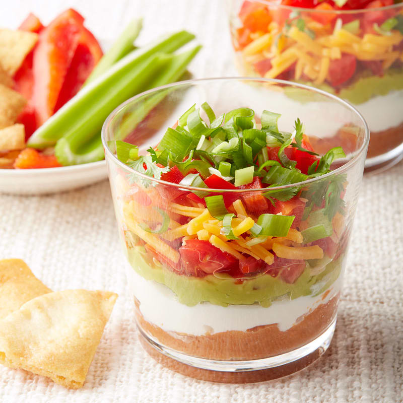 Photo of Mini Mexican layered dips by WW