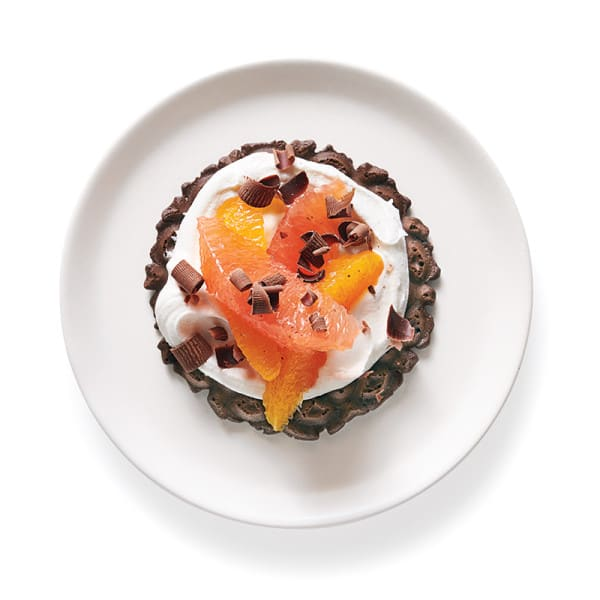 Photo of Chocolate pizzelle fruit tart by WW