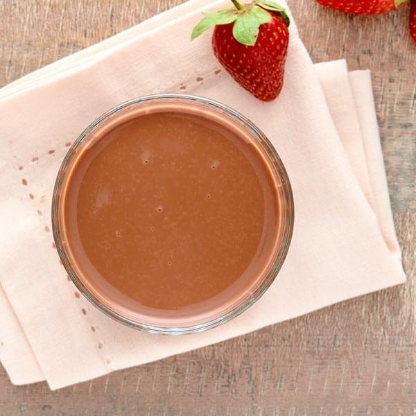 Photo of Chocolate-Strawberry Protein Smoothie by WW