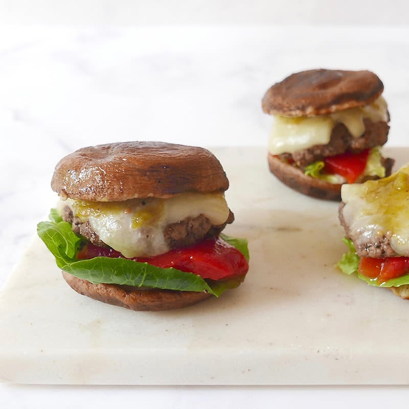 Photo of Shiitake cheeseburger sliders by WW