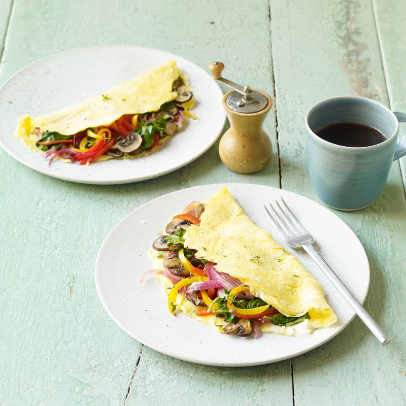 Photo of Veggie lovers' omelette by WW