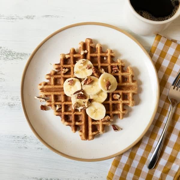 Photo of Banana bread waffles by WW