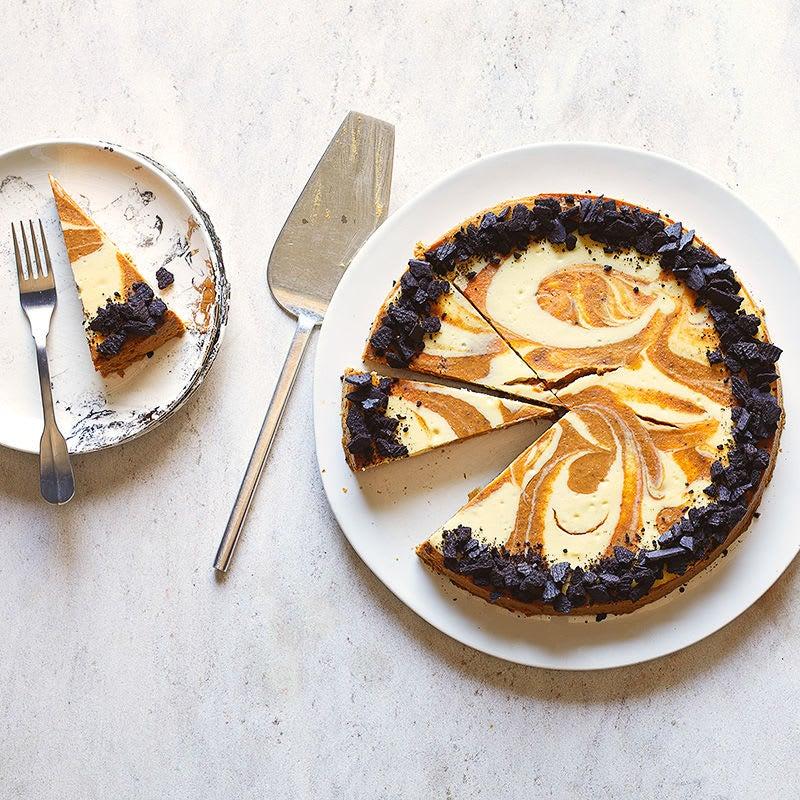 Photo of Pumpkin Swirl cheesecakes by WW