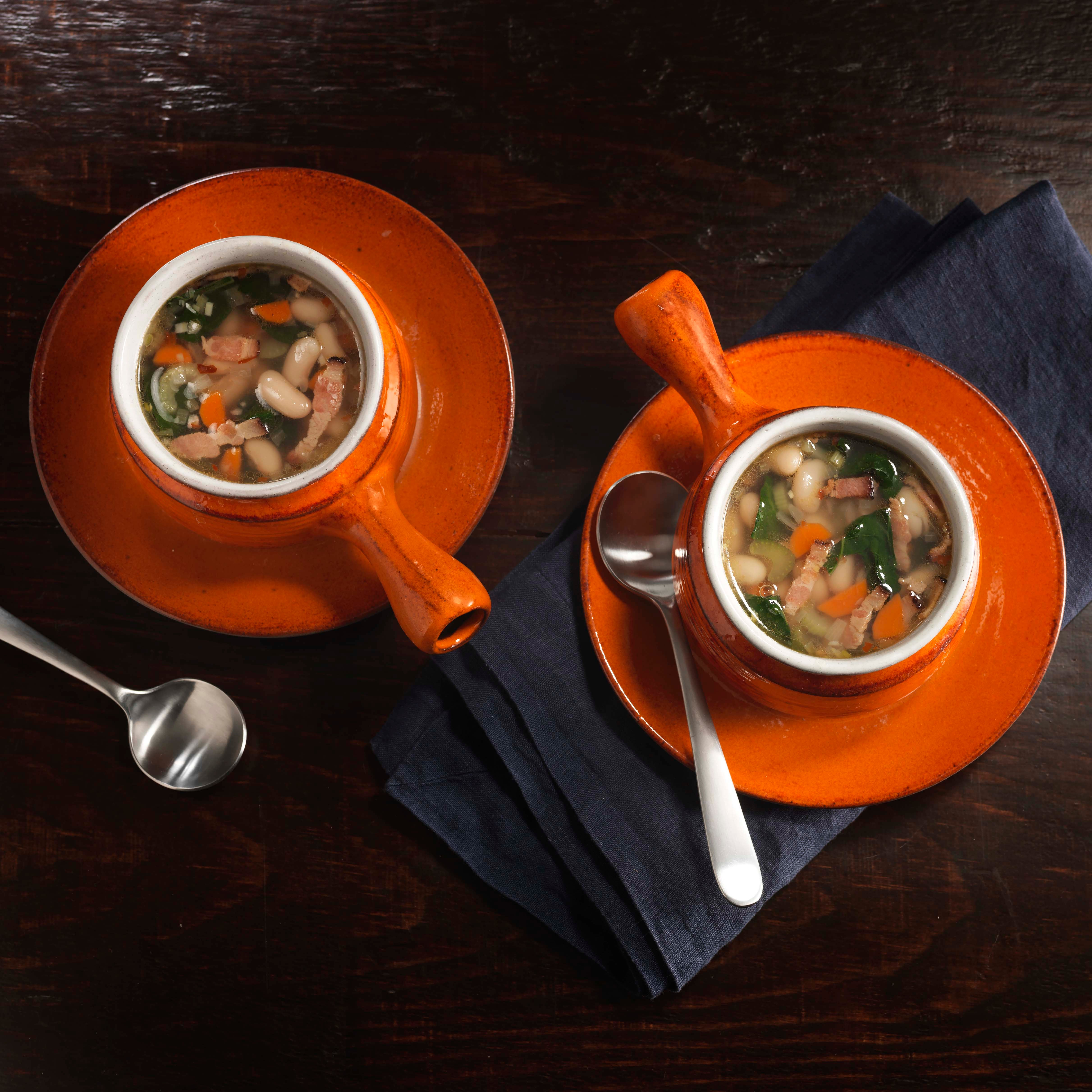 Photo of Tuscan Kale and White Bean Soup by WW