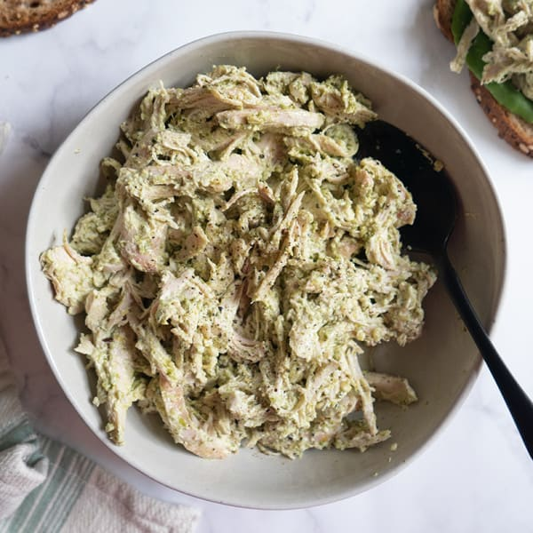 Photo of Easy pesto chicken salad by WW