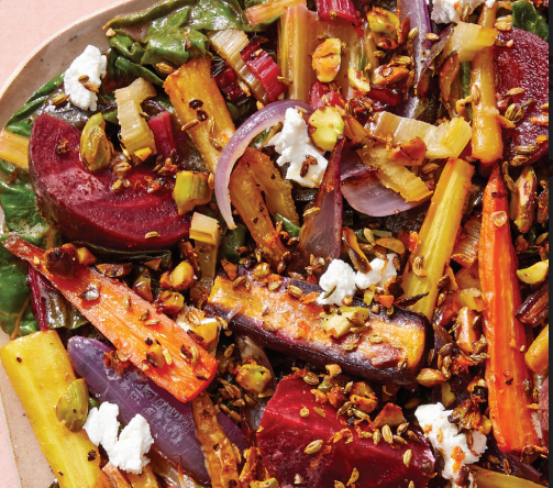 Photo of Roasted Beet and Vegetable Salad by WW