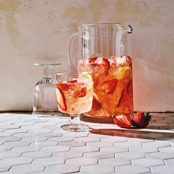 Photo of Strawberry rosé sangria by WW