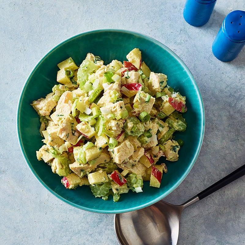 Photo de Salade de poulet au cari et au citron par WW