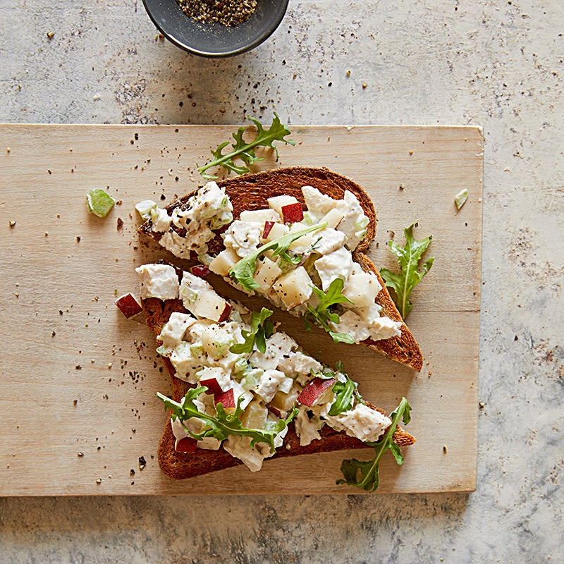 Photo of Honey Mustard Chicken Salad on Whole Wheat by WW